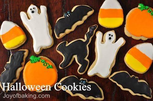 Halloween Sugar Cookies Recipes  Halloween Cookies Recipe Joyofbaking Tested Recipe