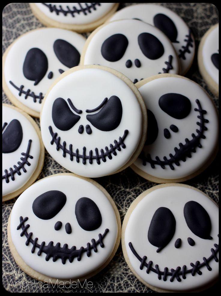 Halloween Sugar Cookies  Best 25 Halloween cookies decorated ideas on Pinterest