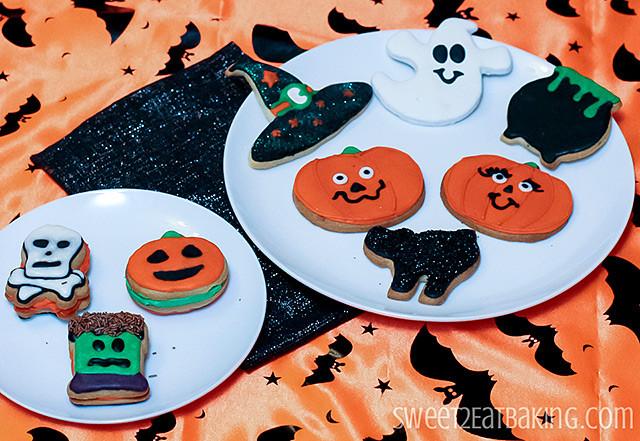 Halloween Sugar Cookies  Halloween Decorated Sugar Cookies