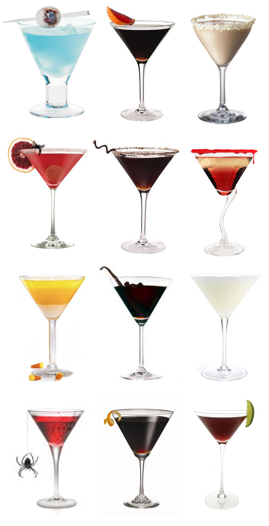 Halloween Themed Alcoholic Drinks  Halloween Martinis For Your Wedding
