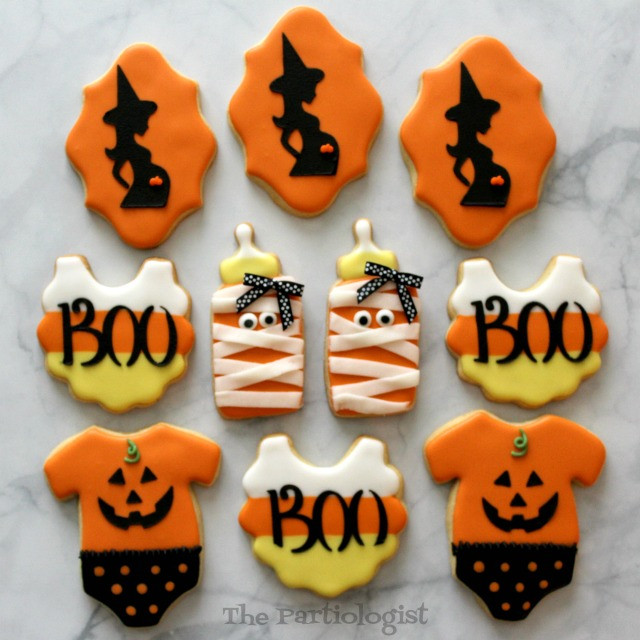 Halloween Themed Cookies  The Partiologist