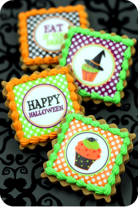 Halloween Themed Cookies  Easy Decorated Cookies for Halloween