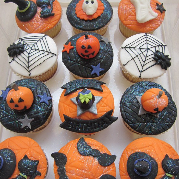 Halloween Themed Cupcakes  Neo Cakes