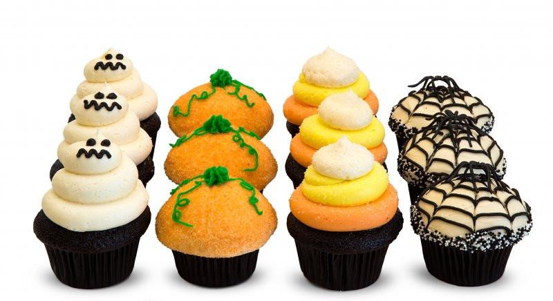 Halloween Themed Cupcakes  Halloween Dozen
