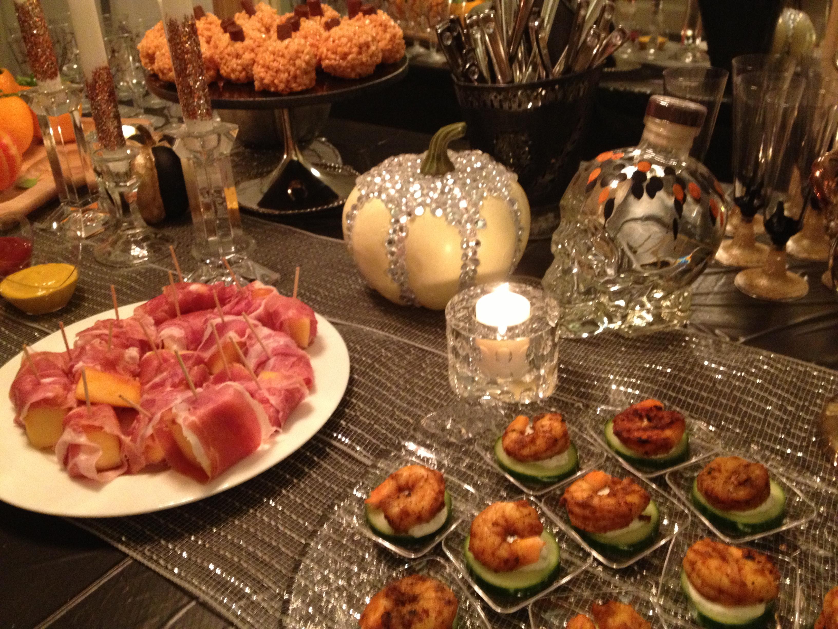 Halloween Themed Dinner  Dinner Parties