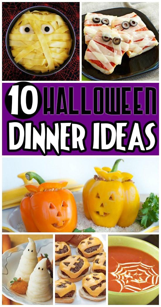 Halloween Themed Dinner  50 FUN Halloween Foods Halloween Themed Food for Every Meal