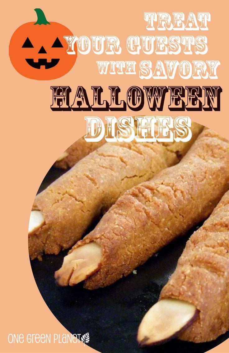 Halloween Vegetarian Recipes  17 Best images about Vegan Halloween Recipes on Pinterest