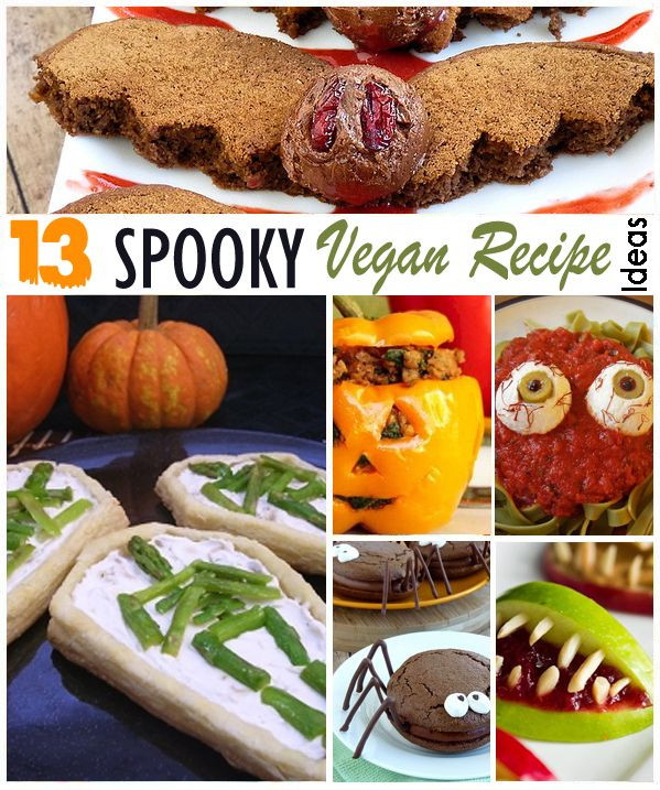Halloween Vegetarian Recipes  17 Best images about Spooky Vegan Ve arian Recipes for