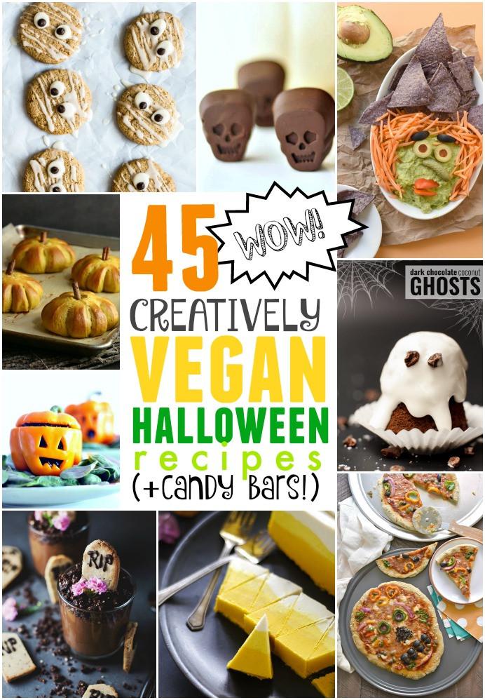 Halloween Vegetarian Recipes  45 Vegan Halloween Recipes Fork and Beans