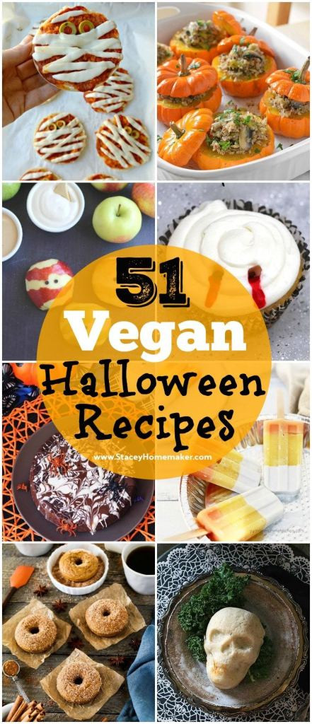 Halloween Vegetarian Recipes  51 Spooky & Delicious Vegan Halloween Recipes