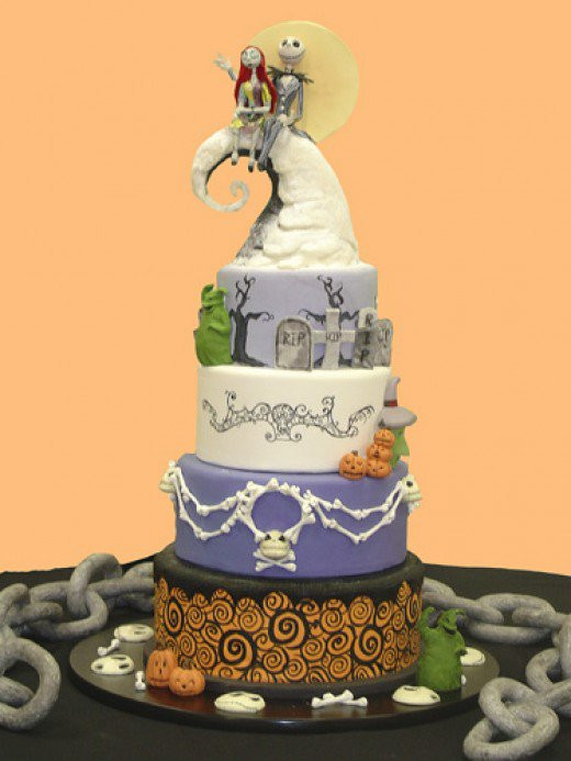 Halloween Wedding Cakes Ideas  Best Halloween Wedding Cake