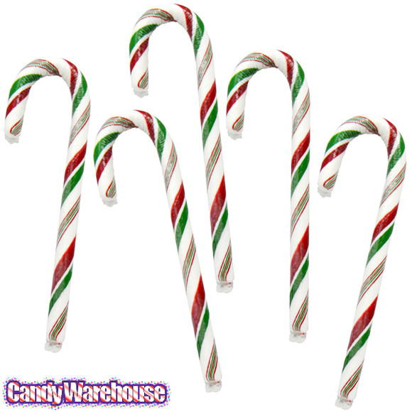 Hard Candy Christmas Meaning  Red White and Green Candy Canes