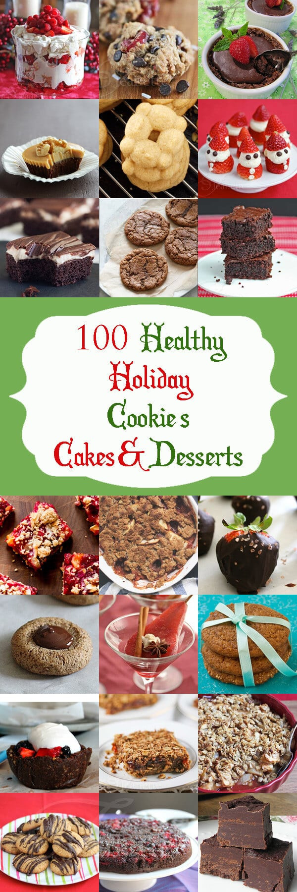 Healthy Christmas Desserts  100 Healthy Christmas and Holiday Dessert Recipes
