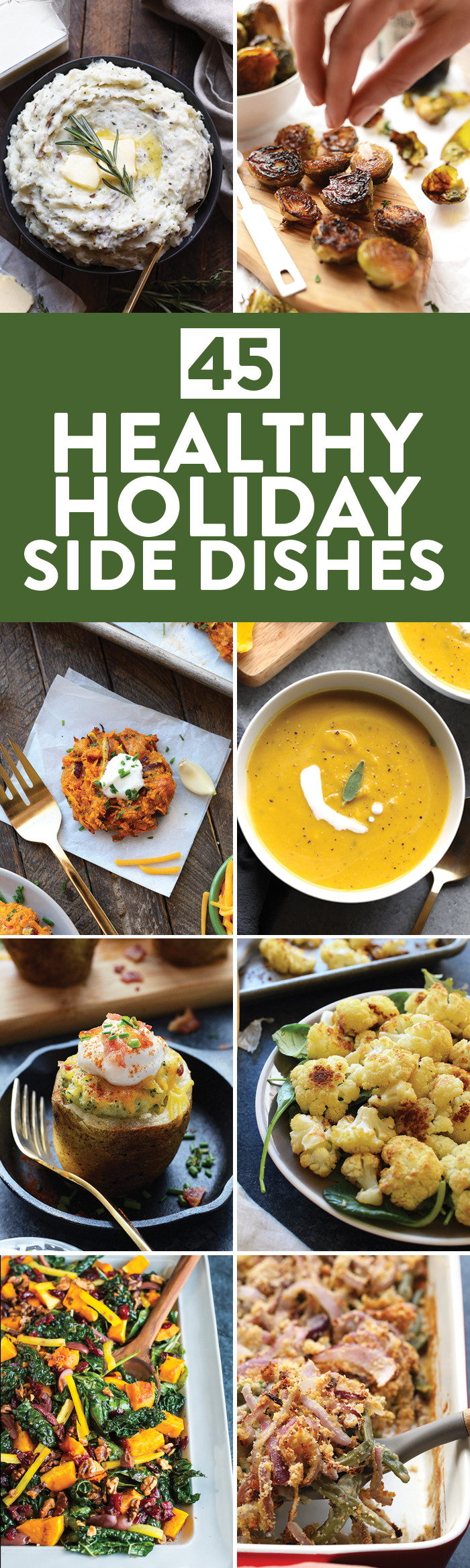 Healthy Christmas Side Dishes  45 Healthy Holiday Side Dishes for Thanksgiving Christmas