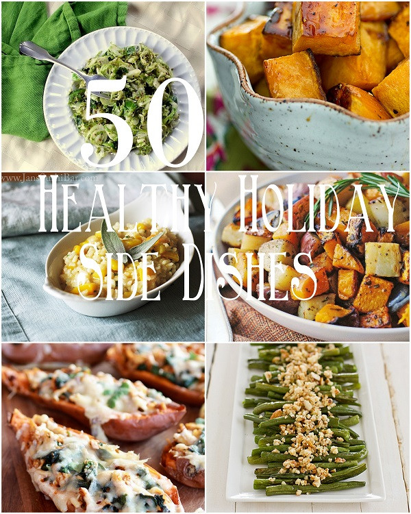 Healthy Christmas Side Dishes  50 Healthy Holiday Side Dishes