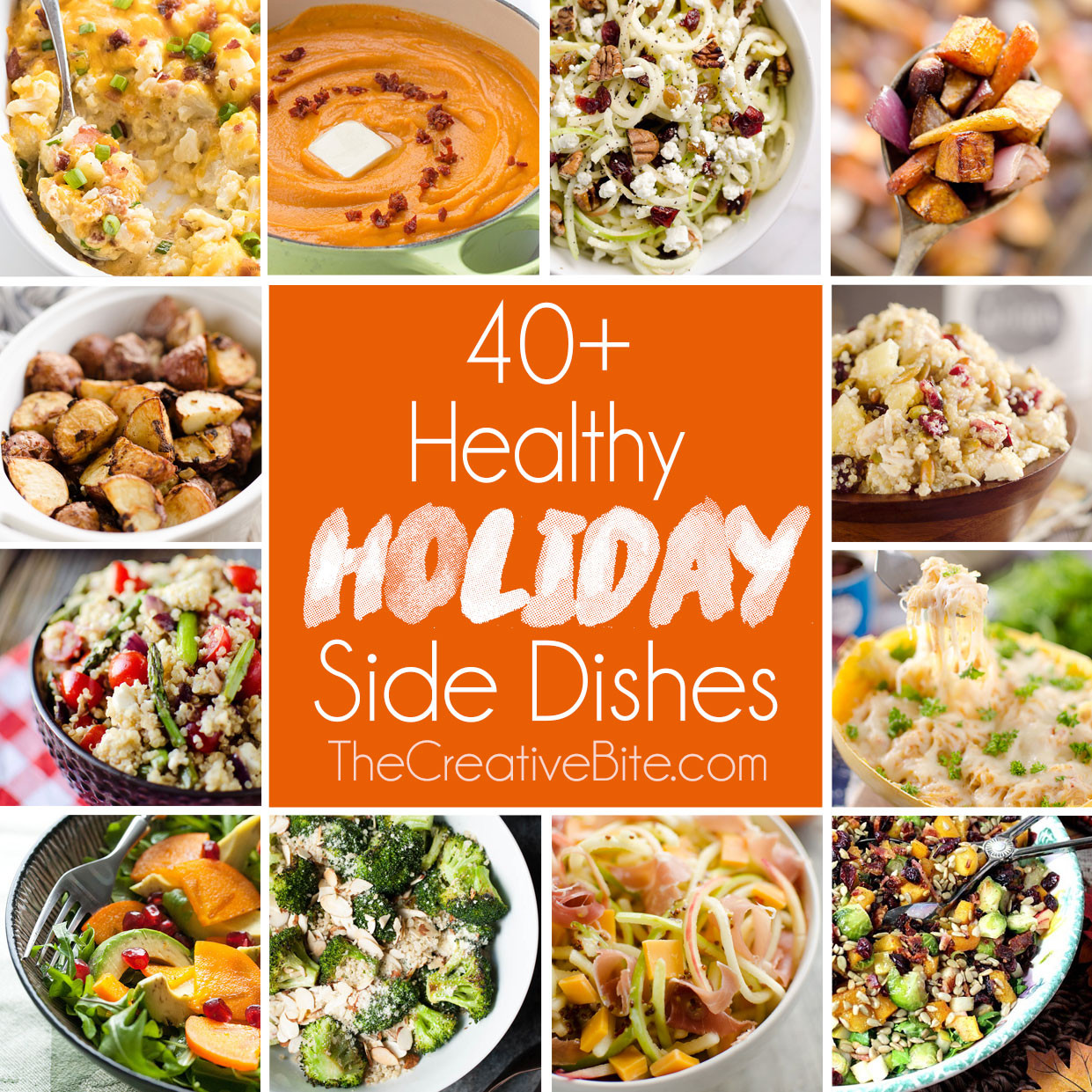 Healthy Christmas Side Dishes  Healthy Holiday Side Dishes
