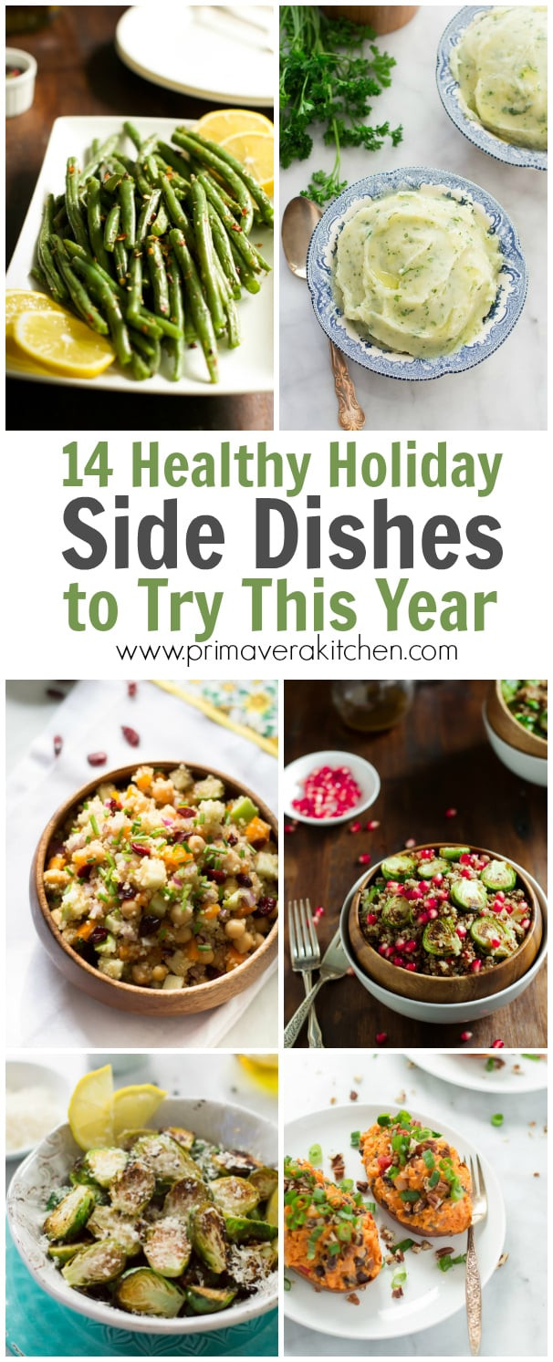Healthy Christmas Side Dishes  14 Healthy Holiday Side Dishes to Try This Year