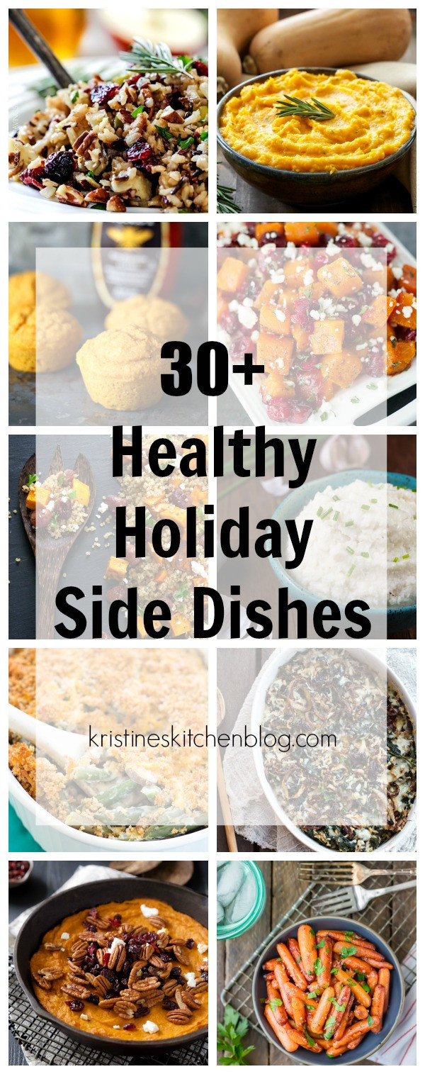 Healthy Christmas Side Dishes  30 Healthy Holiday Side Dishes Kristine s Kitchen
