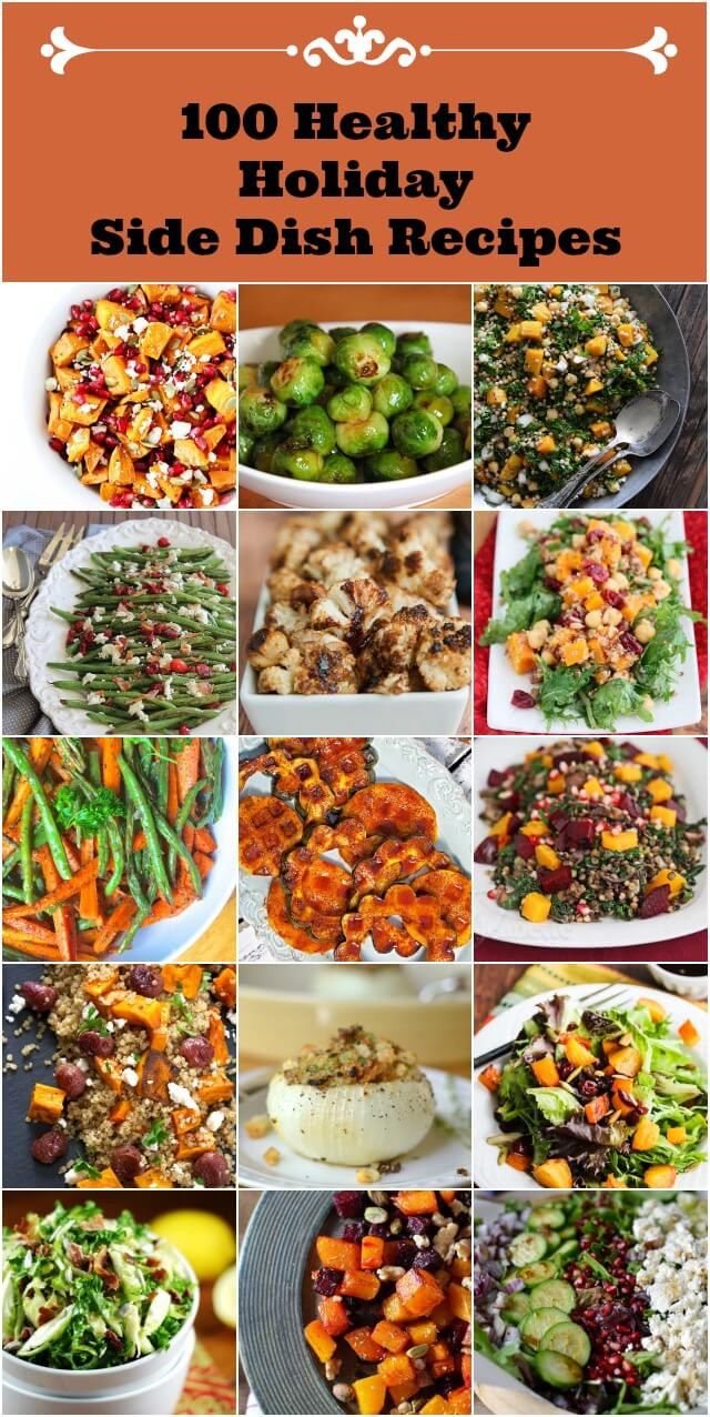 Healthy Christmas Side Dishes  100 Healthy Holiday Side Dish Recipes Jeanette s Healthy