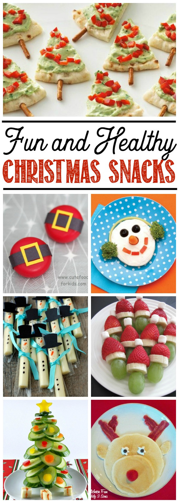 Healthy Christmas Snacks For Kids  Healthy Christmas Food Ideas for Kids Clean and Scentsible
