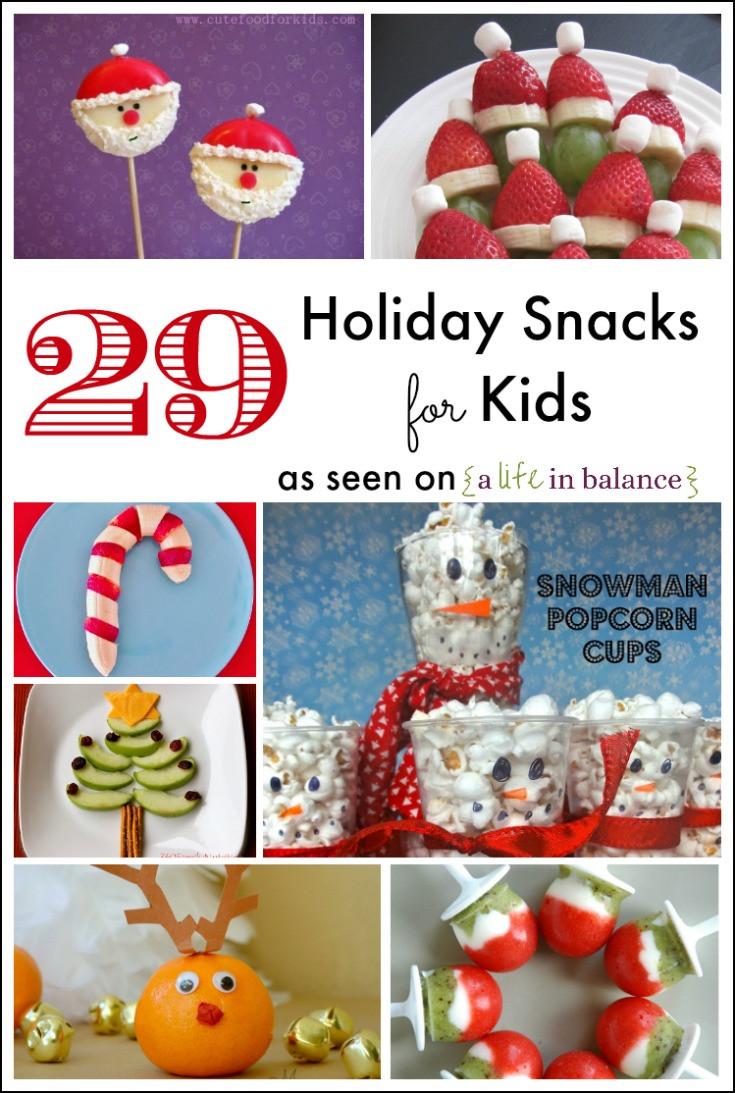 Healthy Christmas Snacks For Kids  29 Holiday Snacks for Kids