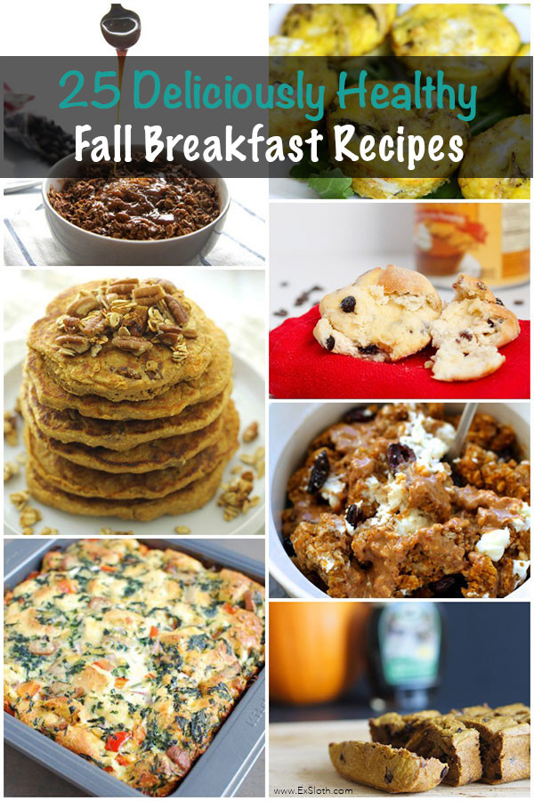 Healthy Fall Breakfast Recipes  25 Deliciously Healthy Breakfasts to Enjoy this Fall