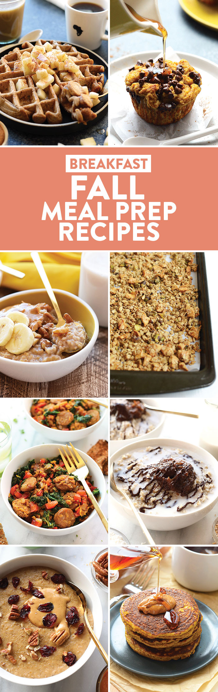 Healthy Fall Breakfast Recipes  50 Healthy Meal Prep Recipes for Fall