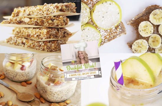 Healthy Fall Breakfast Recipes  Healthy Grocery Girl