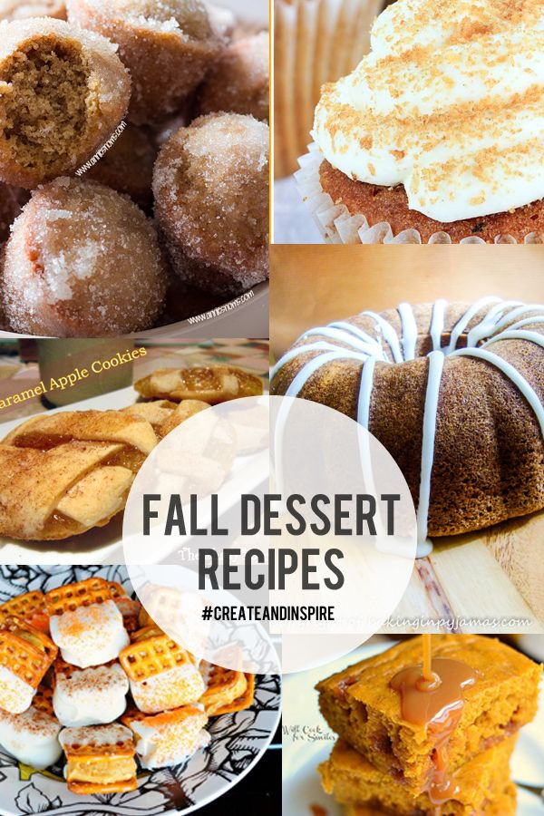 Healthy Fall Dessert Recipes  50 best images about Fall Harvest and Decor on Pinterest