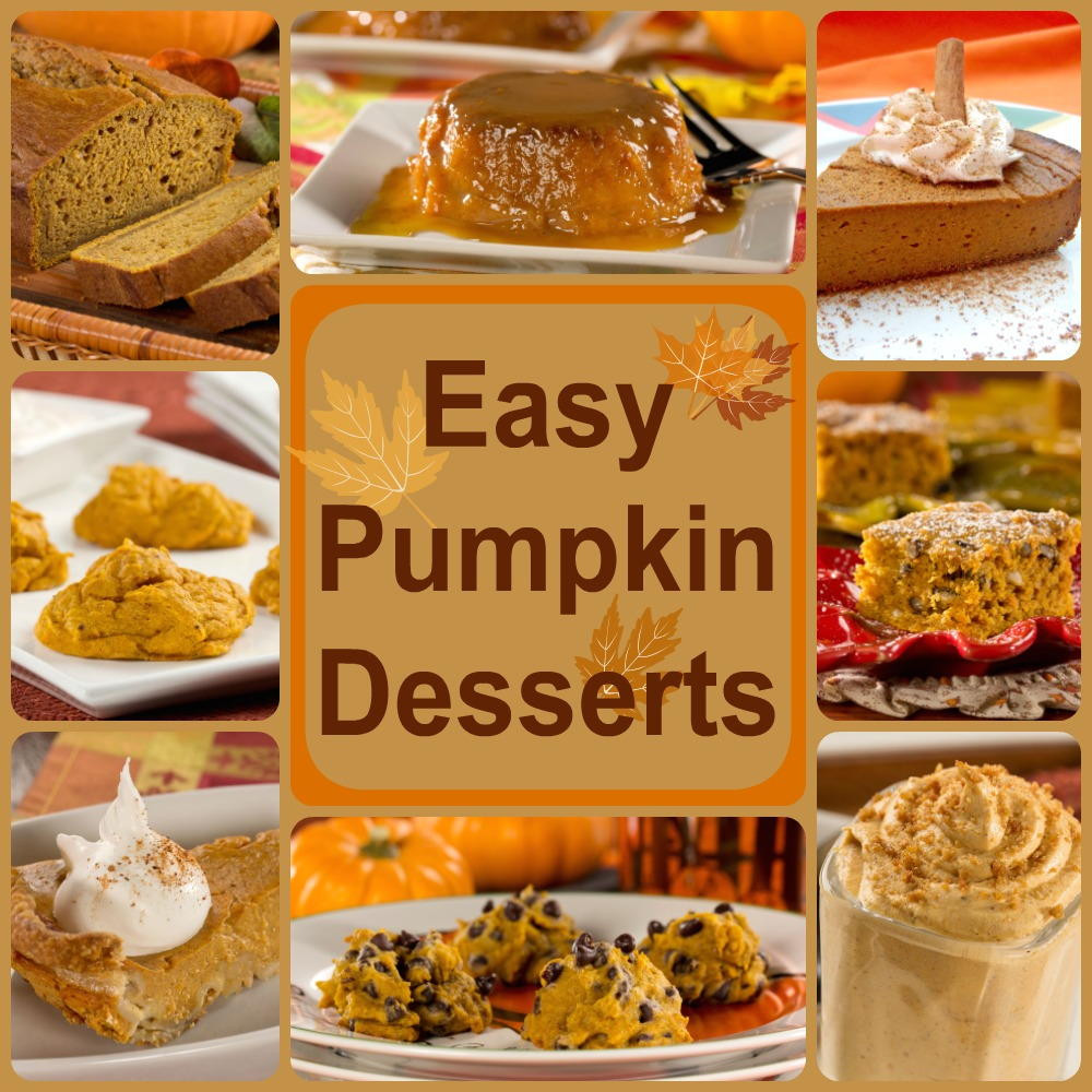 Healthy Fall Dessert Recipes  Healthy Pumpkin Recipes 8 Easy Pumpkin Desserts