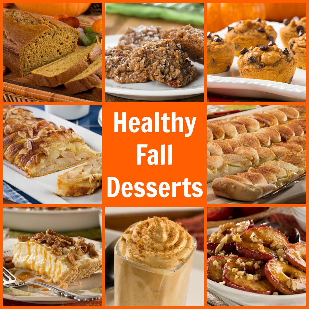 Healthy Fall Dessert Recipes  Healthy Fall Dessert Recipes
