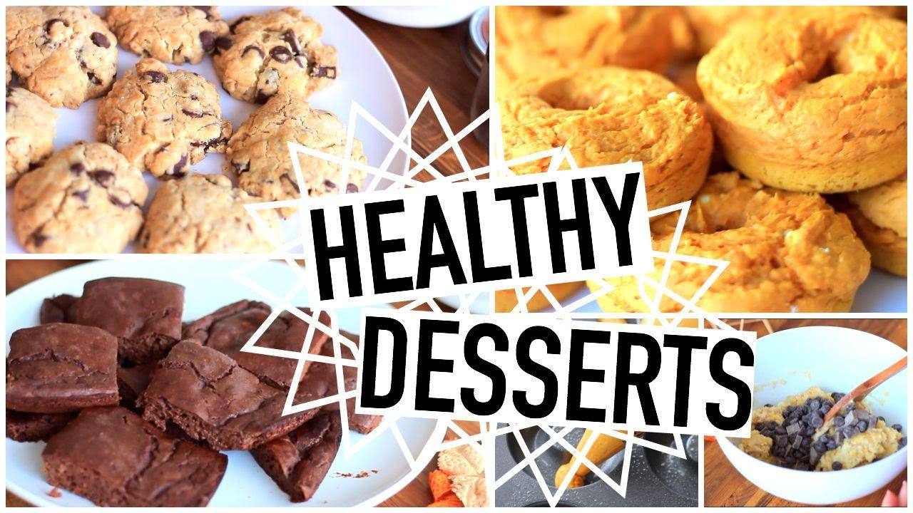 Healthy Fall Desserts  Healthy Dessert Recipes Easy And Perfect For Fall