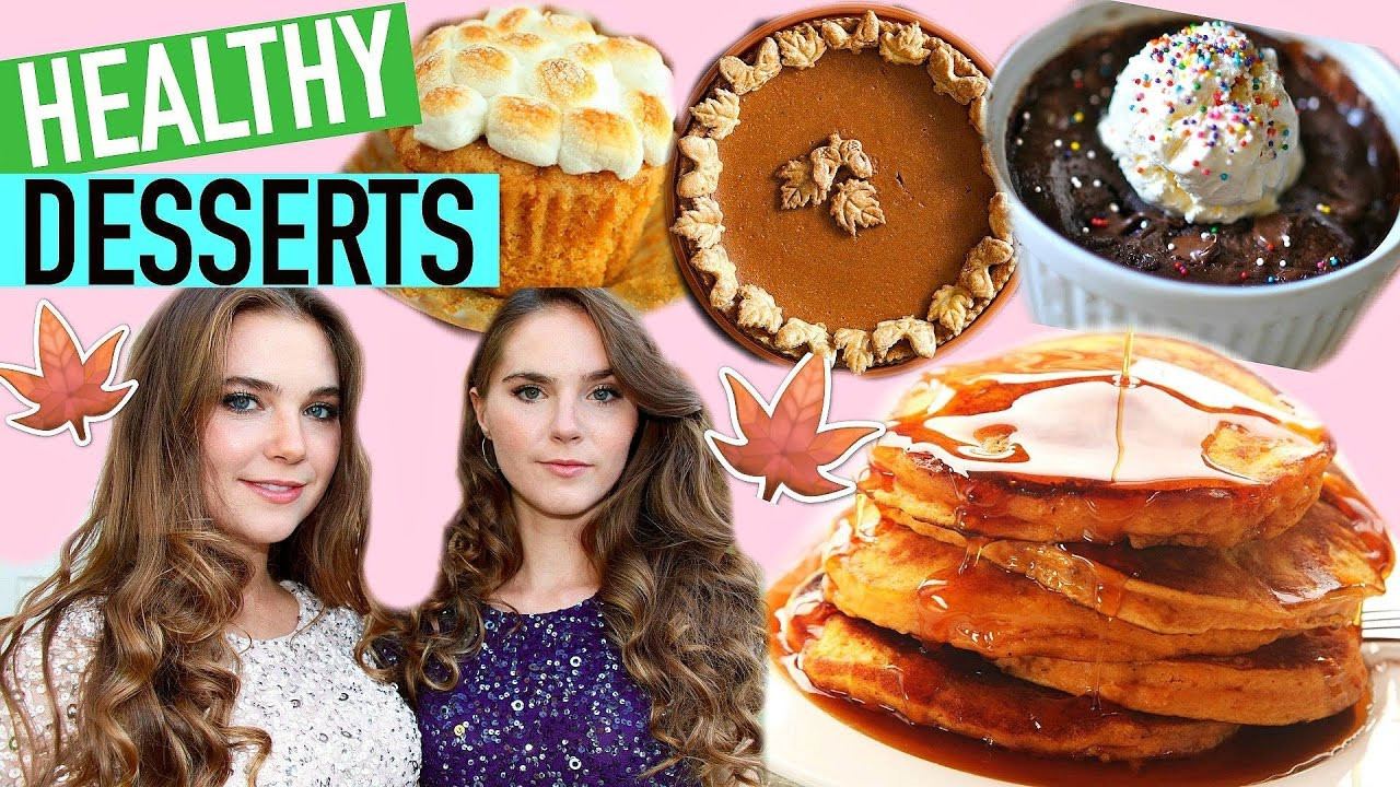 Healthy Fall Desserts  5 HEALTHY FALL DESSERT RECIPES Easy & Vegan