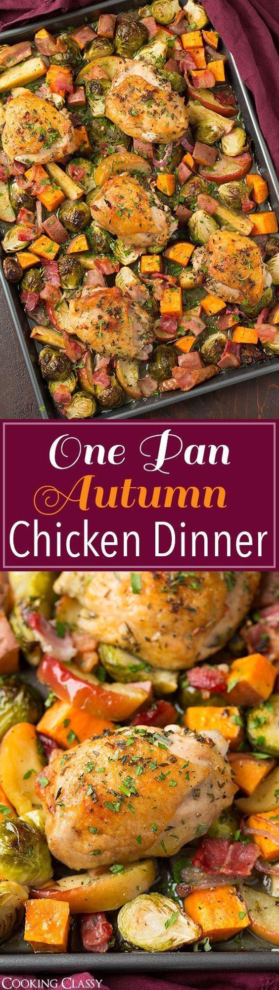 Healthy Fall Dinner Recipes  Best 25 Fall dinner recipes ideas on Pinterest