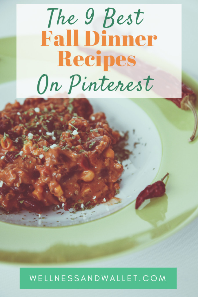 Healthy Fall Dinner Recipes  The 9 Best Healthy Fall Dinner Recipes on Pinterest