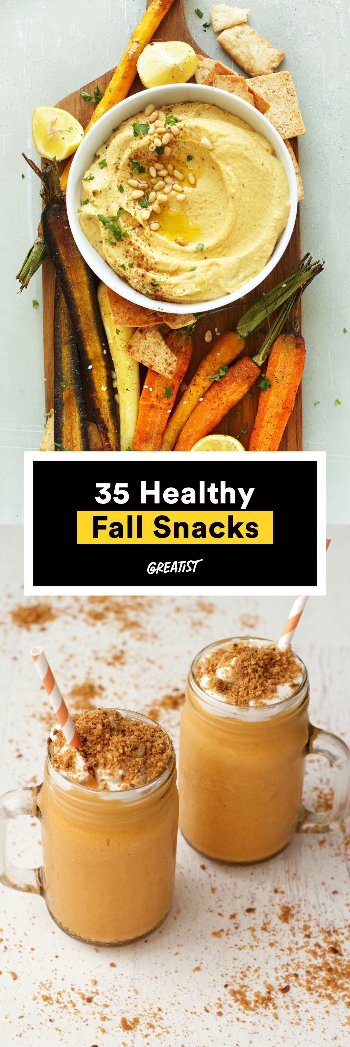 Healthy Fall Snacks  35 Healthy Fall Snacks That Will Make You Grateful Summer