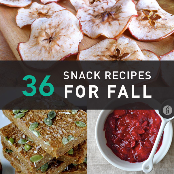Healthy Fall Snacks  36 Healthy Snacks to Celebrate Fall