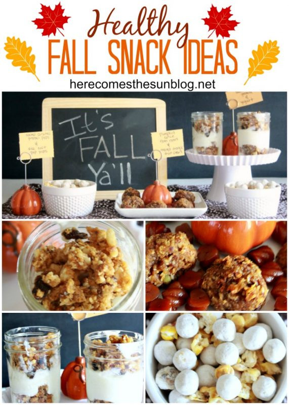 Healthy Fall Snacks  Fall Leaves Specimen Art Inspiration Made Simple