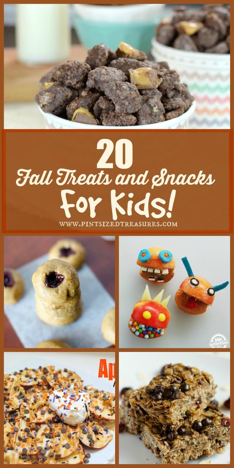 Healthy Fall Snacks  20 Fun Fall Snacks and Treats For KIDS Plus $500
