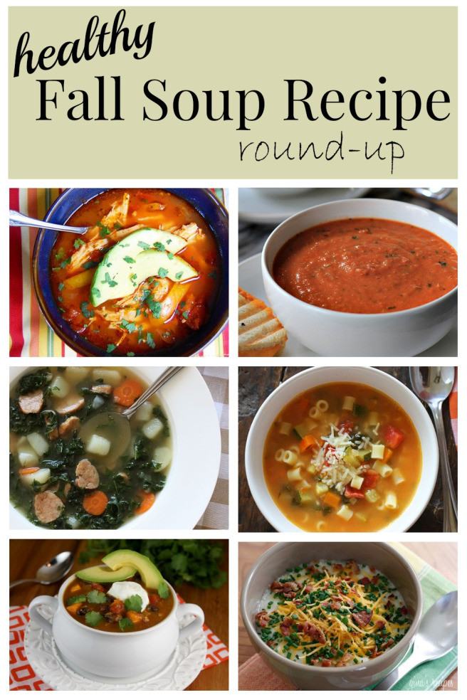 Healthy Fall Soups  Fall Soup Round up 6 delish & healthy recipes for the