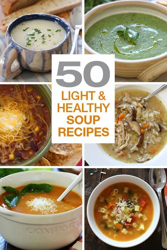 Healthy Fall Soups  50 Light and Healthy Soup Recipes Skinnytaste