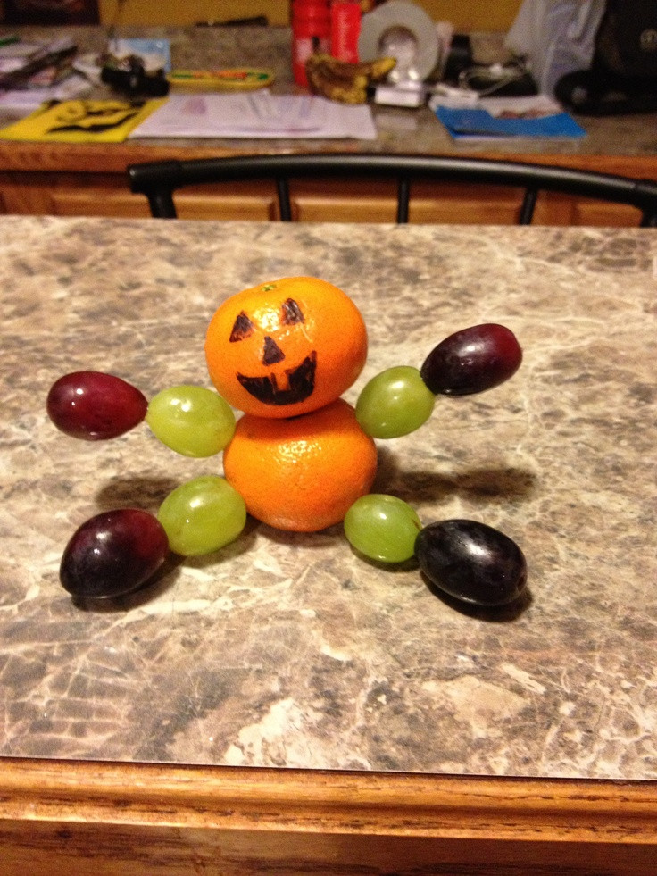 Healthy Halloween Snacks For School  17 Best images about Healthy Halloween Treats on Pinterest