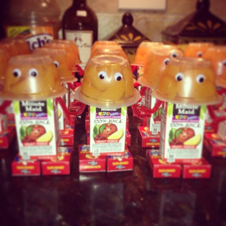 Healthy Halloween Snacks For School  Healthy treats I made for Jayden s bday for school