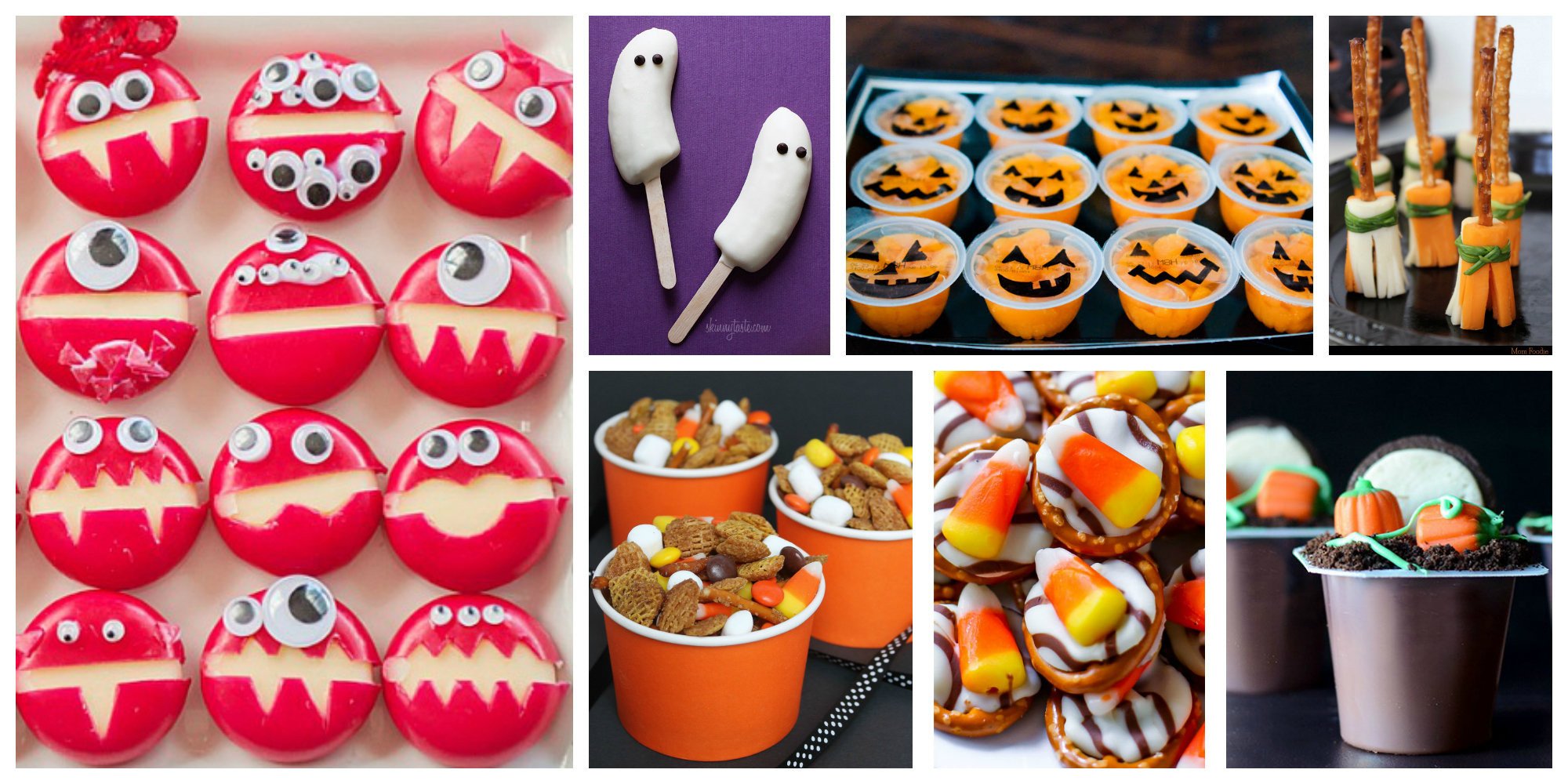 Healthy Halloween Snacks For School  10 Easy Halloween Treats for Lunches After School Snacks
