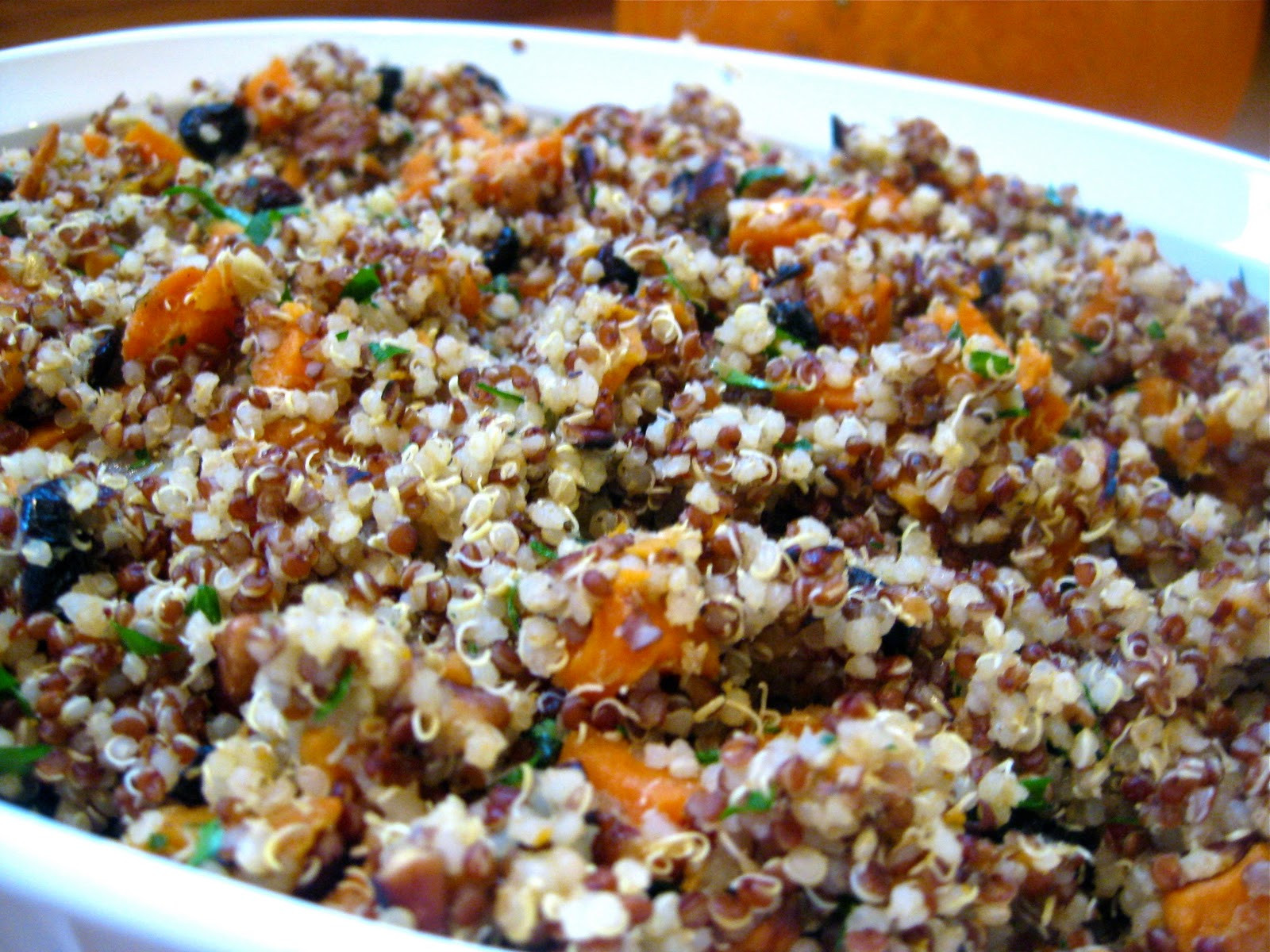 Healthy Stuffing Recipes For Thanksgiving  Quinoa Stuffing Recipe Gluten Free & Vegan