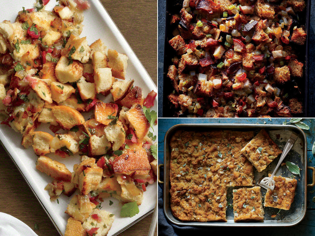 Healthy Stuffing Recipes For Thanksgiving  Healthy Thanksgiving Menu Recipes and Ideas Cooking Light
