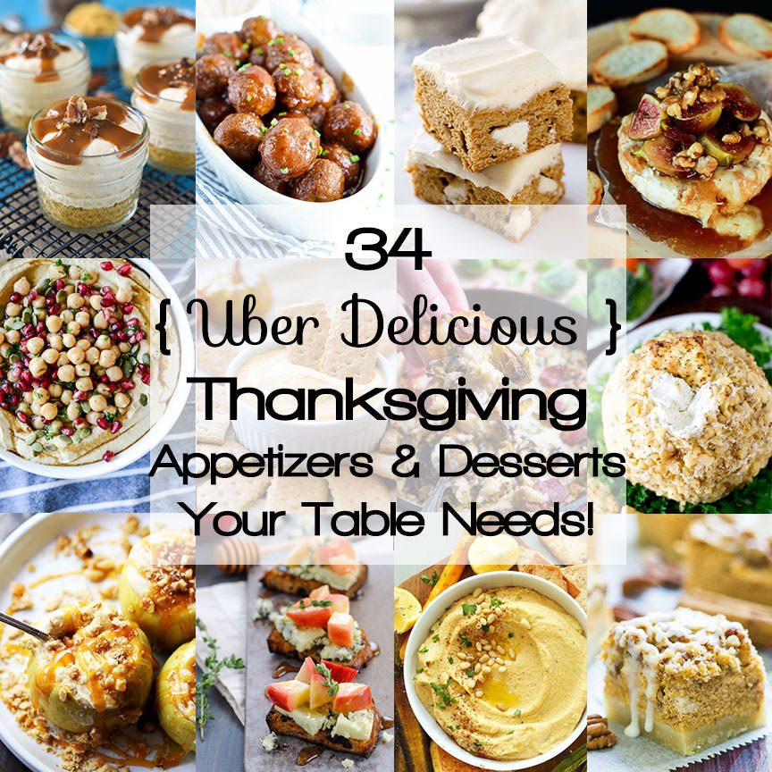 Healthy Thanksgiving Appetizers  Healthy Thanksgiving Appetizers & Desserts