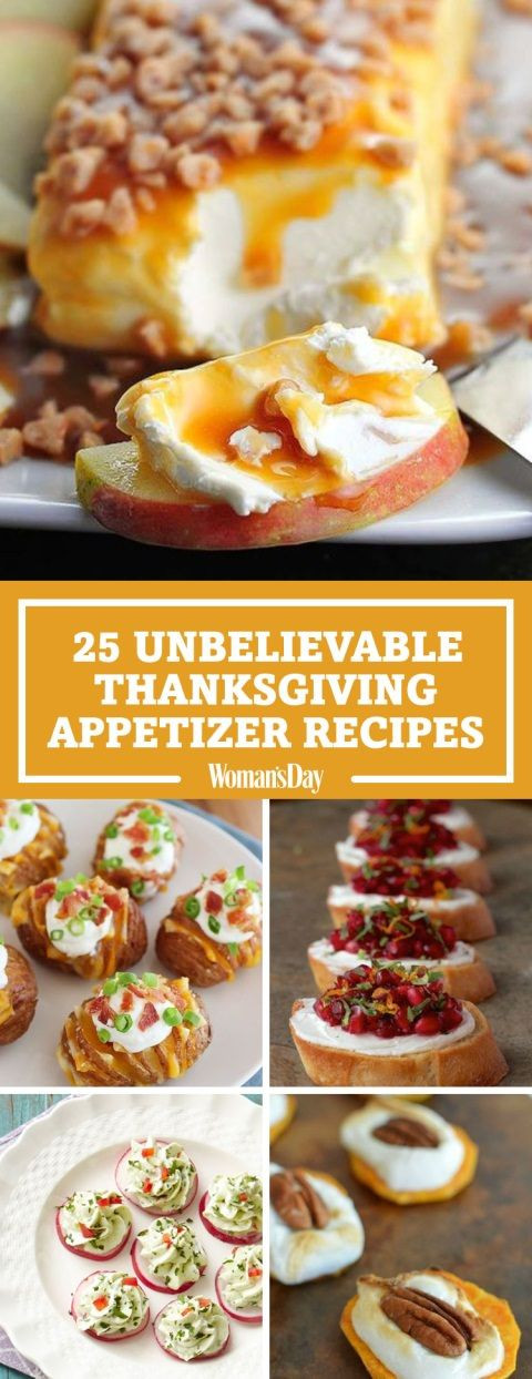 Healthy Thanksgiving Appetizers  25 Unbelievably Good Thanksgiving Appetizer Recipes