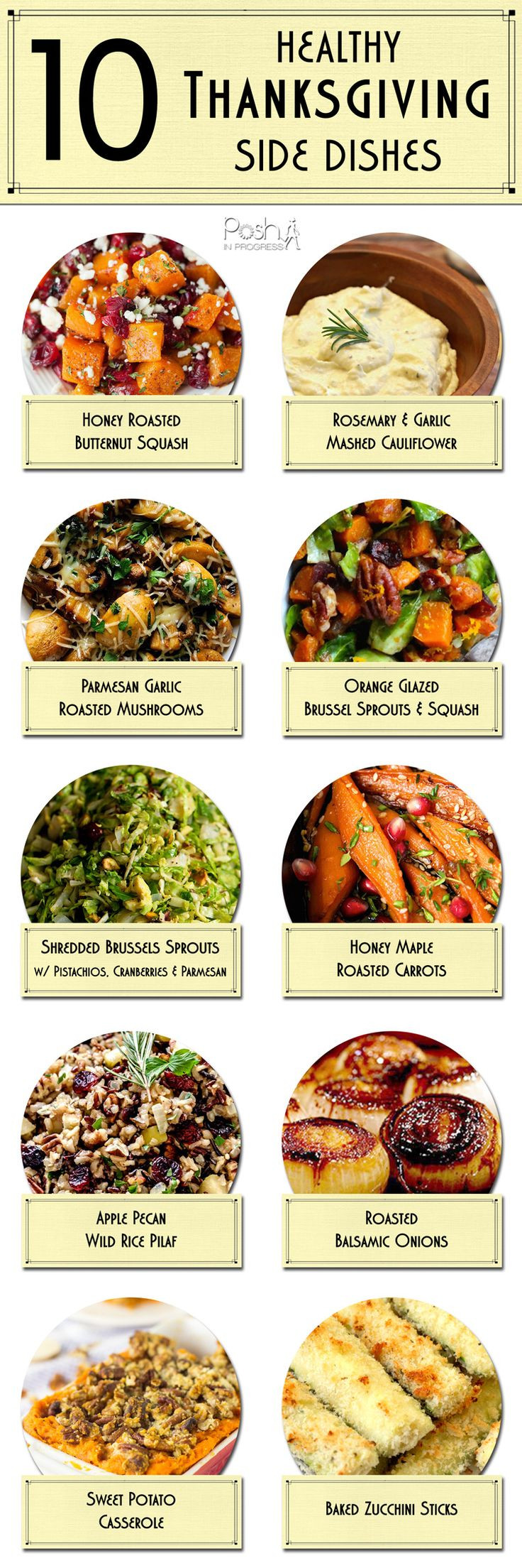 Healthy Thanksgiving Dinner  Best 20 Holiday Side Dishes ideas on Pinterest
