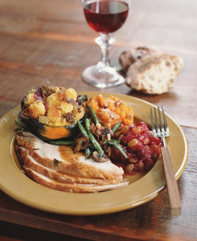 Healthy Thanksgiving Dinner  Healthy Thanksgiving Side Dishes and Desserts Portion